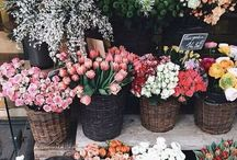 pretty girly / like flowers and pretty things