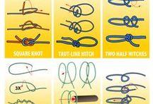 Snor og reb / Knob, knytning og andet du kan lave med snor og reb