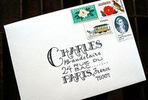 Letters, Envelopes & Journals
