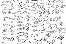Calligraphy - Decorative Flourishes