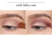 Eye makeup / Eye make up tutorials and suggested eye shadows & brow products.