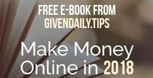 Make Money Online Tips!! / Start your Making Money online today. Visit us at GivenDaily.Tips