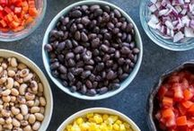 Veggie Snacks & Appetizers / Yummy ways to squeeze in another serving of vegetables before dinner!
