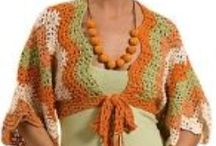 Crochet Shrugs and Boleros / Add a layer of style to your shoulders with these shrug crochet patterns.
