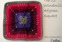 Crochet Squares (and other shapes) / Squares for your afghans, ponchos, etc.