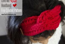 Crochet Headband Patterns / Crocheted headbands to keep your locks in check