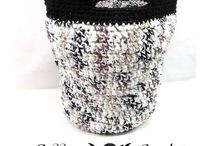 Crochet Baskets / Crochet baskets for holding all your lovelies!