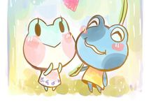Animal crossing comic et personnages