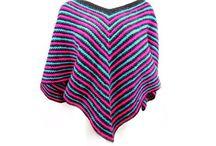 Crochet Ponchos / Crochet poncho patterns