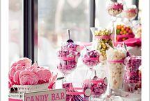 Candy bar/bar à bonbon