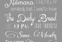 Fonts & Backgrounds / Graphic Design | Fonts | Backgrounds