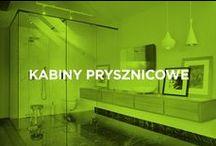Kabiny prysznicowe / Szklane kabiny i zabudowy prysznicowe to idealne uzupełnienie wnętrza każdej łazienki oraz nieograniczony wybór możliwości, w tym uchylne i przesuwne kabiny oraz minimalistyczne jednopanelowe zabudowy.