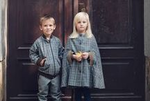katarzyna sokół / woolen star / Fall collection of elegant children's clothes made from high quality wool and knits. The materials from which the collection is made are gentle and pleasant to the touch. The entire series is maintained in muted colors, beautiful grays and browns.