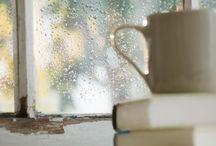 Book. Coffee. Peace.