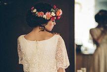 Bridal hair / Gelin saçı başı