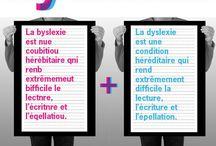 Dyslexie - dysorthographie / Troubles du langage écrit, Dyslexie, Dysorthographie... Outils, exercices, affichages, articles et réflexions... / by Judith Ciosi