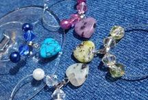 Wine Glass Markers / Charms / Handmade wine glass markers for almost any occasion or interest!  #wine