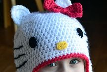 Crochet Children's Hats / Crochet hat patterns for children ages toddler and up