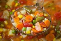 Vegetable Soup Recipes / Healthy and vibrant soups for anyone's taste!