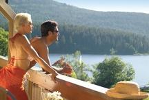Wellnesshotel Auerhahn Schluchsee / Der Schluchsee ist der größte See des Schwarzwaldes und liegt in einer typischen Schwarzwälder Landschaft. Klares Wasser, sanfte Hügel und Wiesen, eindrückliche Wälder mit Fichten. Ob im Sommer am Schluchsee wandern, segeln, biken, Nordic-Walking oder sonnenbaden, im Winter auf dem Feldberg (1493 m) Skifahren - es können nahezu alle Sportarten für Jedermann ausgeübt werden. Inmitten dieser Idylle liegt das Wellnesshotel Auerhahn direkt am Schluchsee. http://www.auerhahn.net