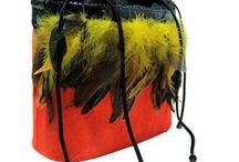 Bags with quills