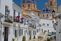 Special places of the Mediterranean Region / Nice restaurants, tea houses, beaches of the Mediterranean Region of Spain. Only places full of charm.