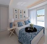Dream bedrooms / Bedrooms from our Mediterranean houses. Always with the inspiration of the Mediterranean sea.