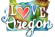 Oregon / Oregon become the 33rd member to join as a state with the United States of America on the 14th of February, 1859. / by L.A. in Ca. 💗🌹