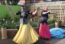 Belly Dancing builders / Adds a whole new meaning to 'drilling' and 'builders bum'