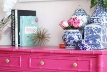 Pink Prettiness / Brings back memories of my shocking pink room as a little girl!