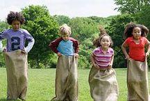 Partyspiele für Kinder / Finden Sie hier Party- und Spielideen für Kinder.