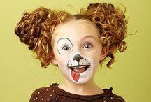 GESICHTSMALEREI / Gesichtsmalerei-Ideen für Kinder und Erwachsene