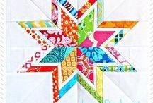 Quilt Blocks / Gorgeous, innovative, mostly-modern quilt blocks.