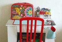 Craft Rooms / Organizational ideas, decorating inspiration, and stunning studio style.