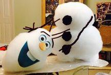 """OLAF PARTY / Ideen für eine Party, die von Olaf von dem Film """"Die Eiskönigen"""" inspiriert wird."""