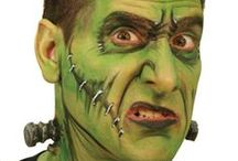 HALLOWEEN GESICHTSMALEREI / Ideen für Halloween Gesichtsmalerei.