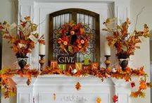 Seasonal decor / Halloween, Christmas & Easter is a great time for letting nature rock inside!