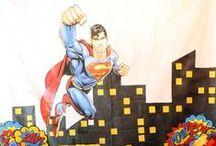 SUPERHELDEN PARTY / Ideen und Inspiration für eine Superhelden Party - perfekt für Kindergeburtstage und Mottopartys.