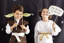 Star Wars Party Ideen / Inspiration für eine Star Wars Mottoparty für Kinder