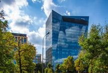 New KPMG Office in Warsaw / The Warsaw office of KPMG Poland has moved to a new location at Gdanski Business Center on ul. Inflancka 4A - right next to Dworzec Gdanski metro station. #KPMG #newoffice #inflancka #Warsaw #Poland #workspace #TheClearChoice