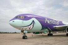 Aircraft Special Painted Livery / Special paint jobs of aircrafts