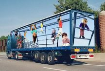 Truck advertising / Special advertising design on trucks