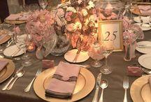 Wedding pink x brown