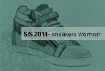 Corvari Sneakers woman collection / S/S 2014 woman collection. Sneakers: shoes of the month