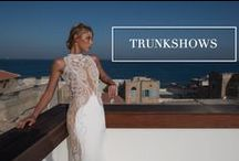Trunk Shows / Set up a private appointment in the city nearest you and become one of our honorary brides-to-be! Our trunk shows include our most popular gowns and select pieces from our newest collection. Come try on your Riki Dalal dream dress, and of course, enjoy some champagne!