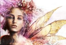 Fairy/Mystical photoshop art / I just love the fantasy world and I would love to learn how to create a mystical look in photoshop. It is so beautiful and mystical...