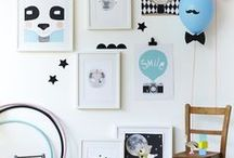 Gallery Wall Ideas / frames and art ideas