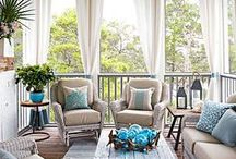 Balcony Chic / Make your Balcony Chic in Minutes with CushyChic Outdoor Slipcovers & Accessories.