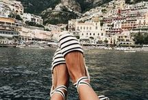 Stylish Holiday Shoes / Stylish shoes suitable for a style-conscious traveler. If you like to travel with style, follow us! Also, follow us on Instagram @christobeltravel and tag #christobeltravel to be featured.