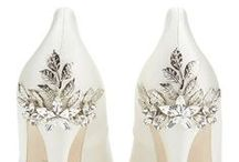 RD Loves | Wedding Shoes / Looking for some fantastic heels to compliment your gorgeous Riki Dalal gown? Here is some bridal shoe inspiration straight from the source!